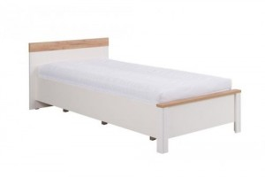 Łóżko BERG 90 cm (19) z materacem