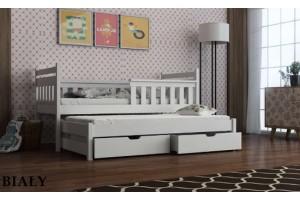 Łóżko piętrowe 2-osobowe DOMI 90/200 + materace