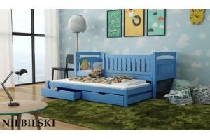 Łóżko piętrowe 2-osobowe GALA 90/190 + materace