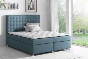 Łóżko kontynentalne ASTI 180/200