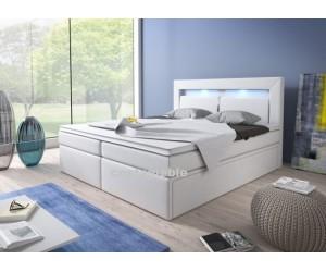 Łóżko tapicerowane MILO 180/200 + 2 szuflady, materace bonellowe