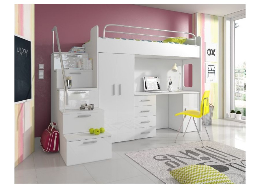 Meble Młodzieżowe Kind 4 S Z łóżkiem Na Antresoli