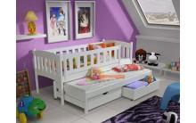 Łóżko piętrowe AMELIA 90x200 + materace