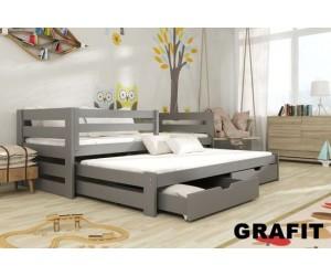 łóżko Piętrowe 2 Osobowe Kuba 90190 Materace