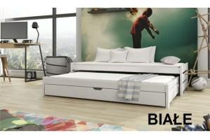 Łóżko piętrowe ANUŚ 80/180 + materace