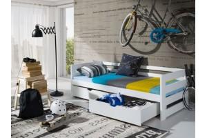 Łóżko piętrowe ERGUŚ 90/190 + materace